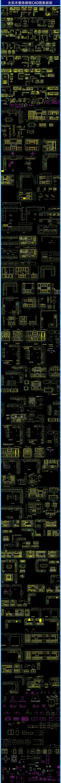 全实木整体橱柜CAD图集新版 dwg