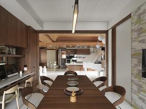 现代简约风格的餐厅