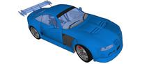 MG SVR汽车SU模型
