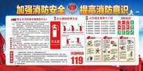加强消防安全展板