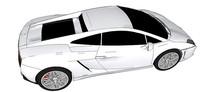 兰博基尼Lp560汽车模型