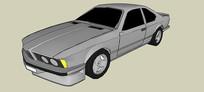 宝马6汽车SU模型