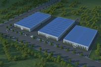 厂区 厂房MAX模型