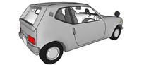 大产牌汽车SU模型