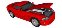vipersrt10汽车模型