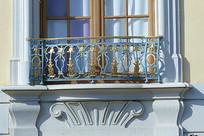 现代阳台窗户图
