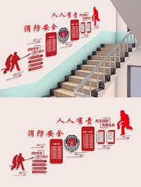 消防安全文化墙设计