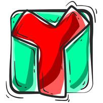 原创元素字母y