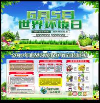 6月5日环境保护日宣传展板