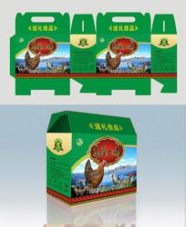 土雞包裝盒設計