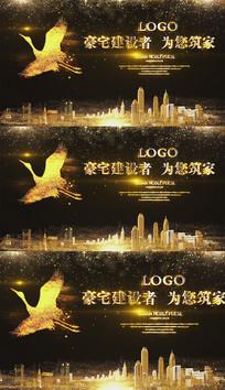 金色凤凰房地产宣传视频模板