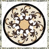 欧式大理石纹地面拼花图案