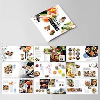 小清新简约风日系美食画册