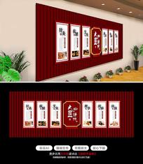 医院中医文化墙设计