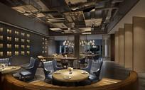 餐厅大厅设计效果图