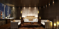 酒店休息室设计效果图