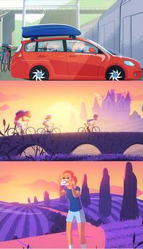 旅行快乐幸福动画卡通ae模板