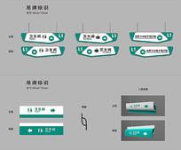企业标识导视标识牌设计