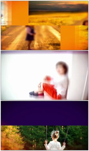 视差动感快闪儿童成长相册视频模板