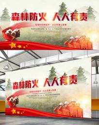 2019森林防火宣传展板