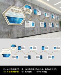 成长足迹企业历程文化墙