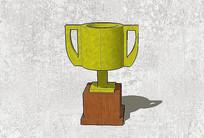 复古杯型奖杯