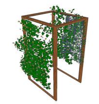 花卉植物爬藤架