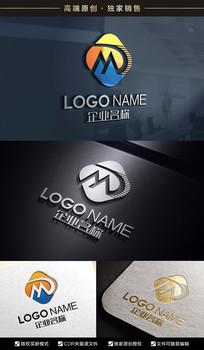 MD字母标志DM标志设计