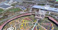 郊野公园迪士尼乐园视频素材