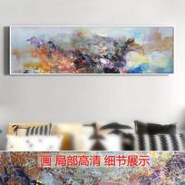 抽象油画山水写意画壁画