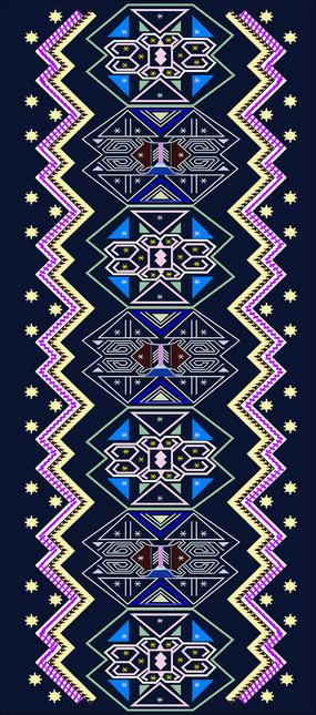 传统民族花纹图案