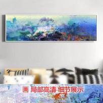 写意山水风景油画艺术壁画