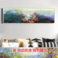 意境山水风景画抽象画