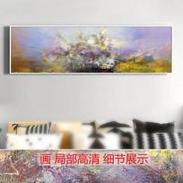 原创手绘抽象油画高清图