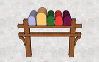 彩色信箱组合