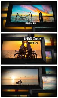经典相框照片图片展示AE视频模板