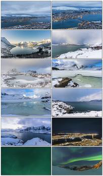 挪威震撼天堂美景视频素材