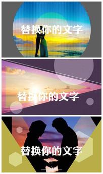 唯美爱情相册AE视频模板