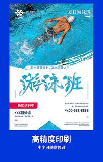 游泳班宣传海报