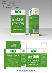 高档绿色果蔬酵素包装设计