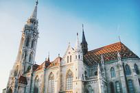 欧洲白色大教堂