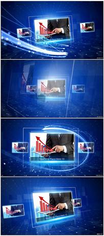 商务科技图文AE模板