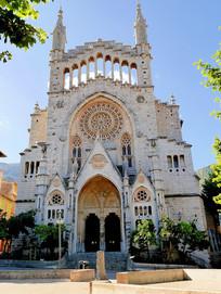西班牙马洛卡大教堂