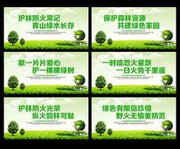 保护森林宣传展板