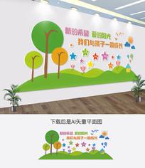 校园文化幼儿园文化墙