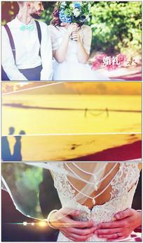 动感时尚婚礼相册AE模板