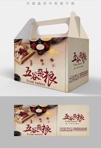 谷物粗粮五谷杂粮包装设计