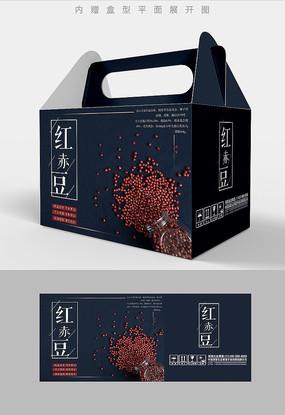红赤豆五谷杂粮包装设计