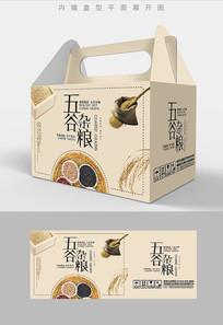 农家特产五谷杂粮组合套装包装设计