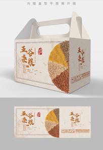 特色五谷杂粮包装盒设计